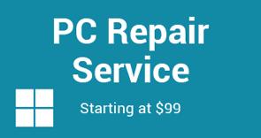 PC Repair Service Button